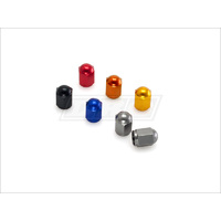 DRC AIR VALVE CAP BLUE 2 PER PACK