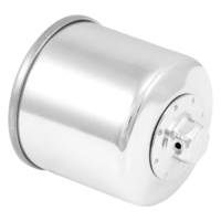 K&N OIL FILTER 138C CHROME